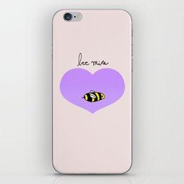 Bee Mine, Oh My Cliche Valentine iPhone Skin