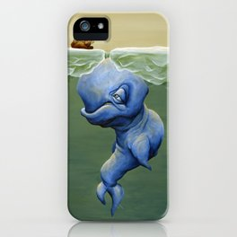This One's About Greed iPhone Case