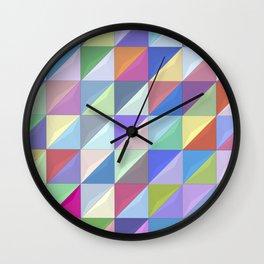 Geometric Shapes I Wall Clock