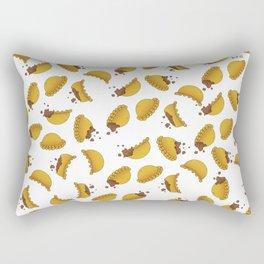 Empanada Frenzy Rectangular Pillow