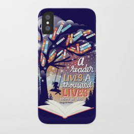 Thousand lives iPhone Case
