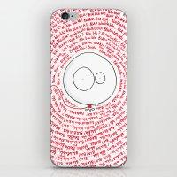 ballon iPhone & iPod Skins featuring MR BALLON by Mr Ballon