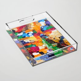 Life In Color Acrylic Tray