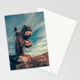 Horse smile Stationery Cards