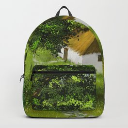 Hause in Forest 1 Backpack