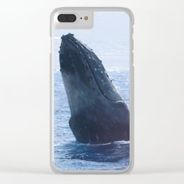 A Wave from a Whale Clear iPhone Case