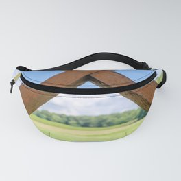 Wine Glass Pass Through Fanny Pack