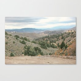 West Canvas Print