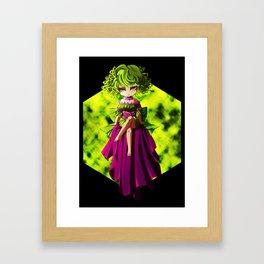 Flourine Framed Art Print
