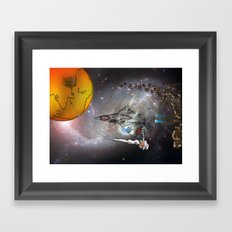 Stealth Bomber Framed Art Print