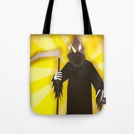 Grim Reaper Unicorn Tote Bag