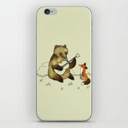 Bear & Fox iPhone Skin