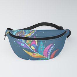 One Feather ... One World Fanny Pack