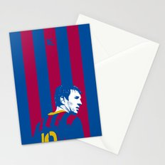 Messi Barcelona Stationery Cards
