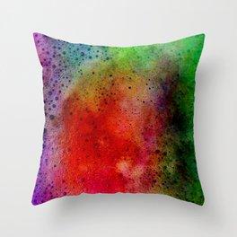 coffee foam Throw Pillow