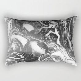 Melt - Asphalt Rectangular Pillow