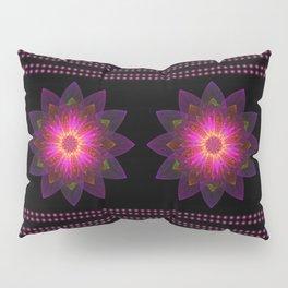Abstract purple flower 06 Pillow Sham