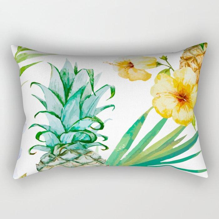 Pines & palms Rectangular Pillow