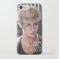 snk iPhone & iPod Cases featuring SnK Magazine: Jean by putemphasis