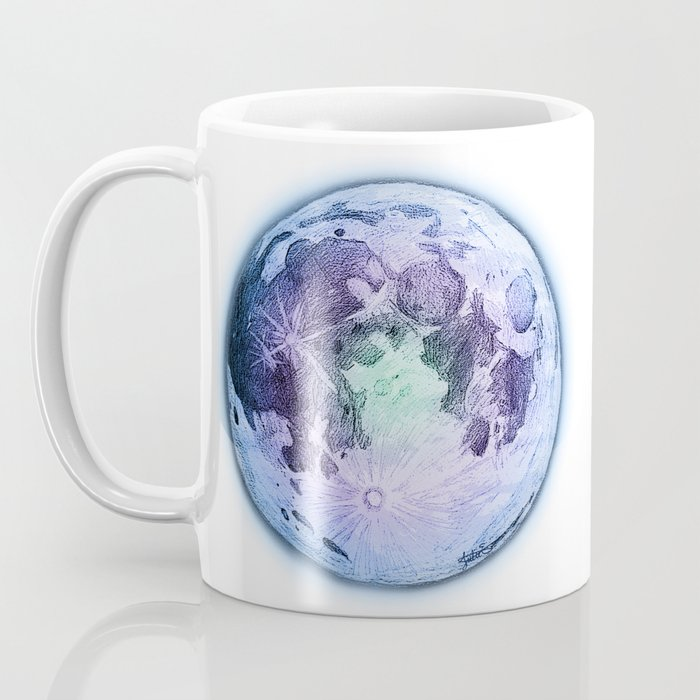 Pastel Moon Coffee Mug