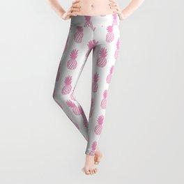 Light Pink Pineapple Leggings