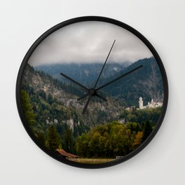 Magic meadow Wall Clock