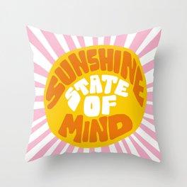 Sunshine Vibes Throw Pillow
