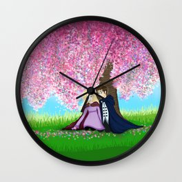Sophie and Fitz Wall Clock