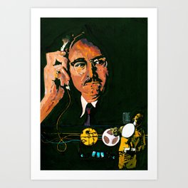 The Conversation (Gene Hackman) Art Print