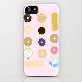 Liz Lemon's Donut Order iPhone Case