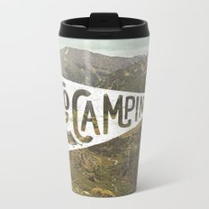 Go Camping Metal Travel Mug