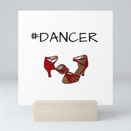 dance shoes Mini Art Print