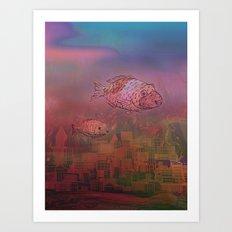 Atlantida / 29-07-16 Art Print