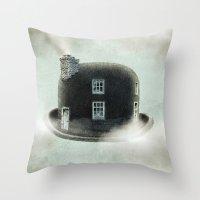 dreamer Throw Pillows featuring Dreamer by Eric Fan