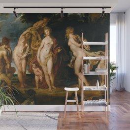 Peter Paul Rubens - The Judgment of Paris Wall Mural