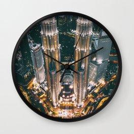 Moody KLCC Wall Clock