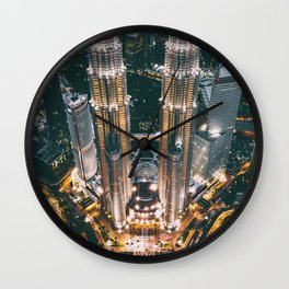 Moody KLCC Wall Clock