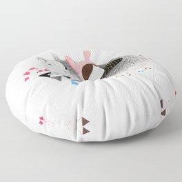 The Squirrel Floor Pillow