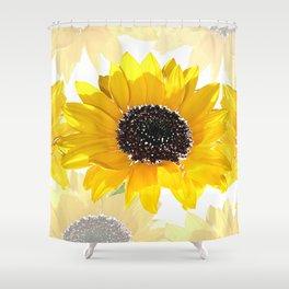 Sunflower 12 Shower Curtain