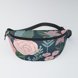 Beautiful Exotic Floral Fanny Pack