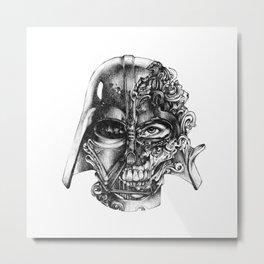 Vader Invader Metal Print