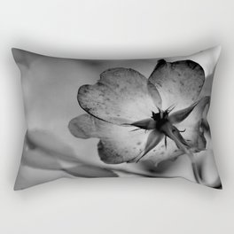 Delicate transparency Rectangular Pillow