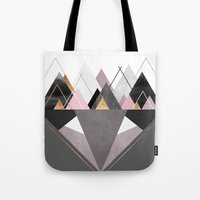nordic Tote Bags featuring Nordic Wilderness by Elisabeth Fredriksson
