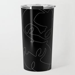 Dark Mirror Travel Mug