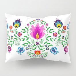 Folk Pattern #2 Pillow Sham