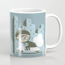Scooter Boy Coffee Mug
