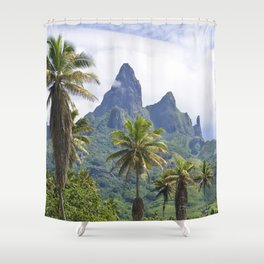 The Land Time Forgot: Marquesas Islands Shower Curtain