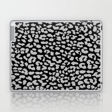 Gray Black Leopard Laptop & iPad Skin