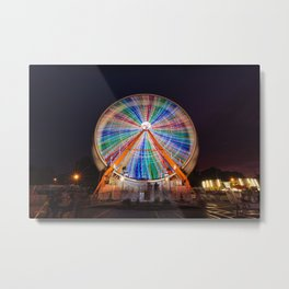 Ferris Wheel 3 Metal Print