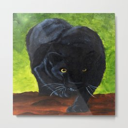 Black Panter Collection Metal Print